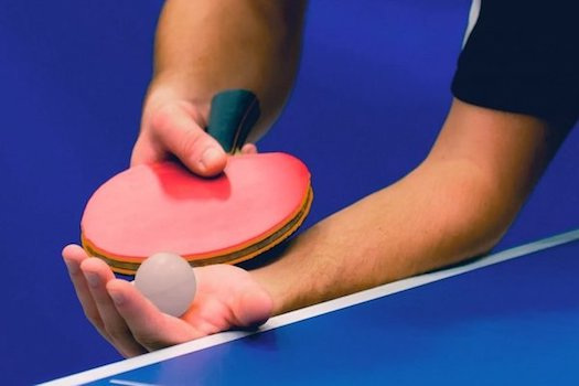Handle the Ping Pong Paddle nicely